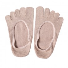 Fimage有致701017隐形绢丝五趾船袜