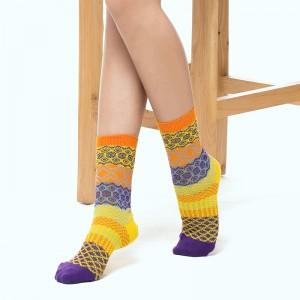 Fimage有致701426波西米亚风格棉袜