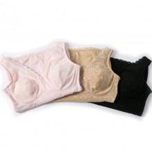 fimage有致103018轻型提花加绒款美体保暖背心收腹托胸束腰美体塑身衣V领长款上衣