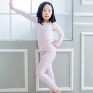 fimage有致1204001儿童内衣套装女童莫代尔家居服秋衣秋裤