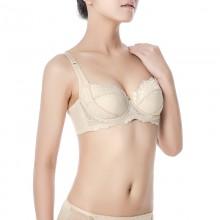 fimage有致101506调整型软钢圈文胸(真丝内衣批发)